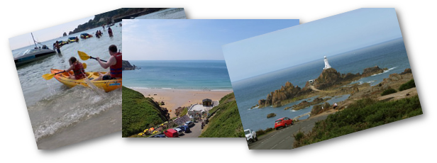 2014 - summer holidays in Jersey with lots of beaches
